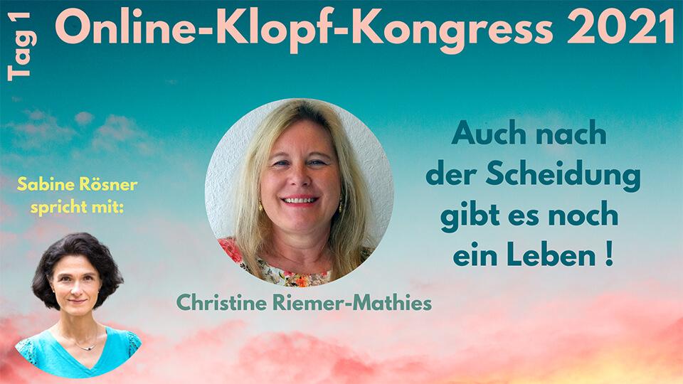 Interview Christine Riemer-Mathies