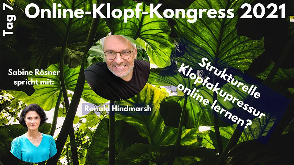 Interview Ronald Hindmarsh