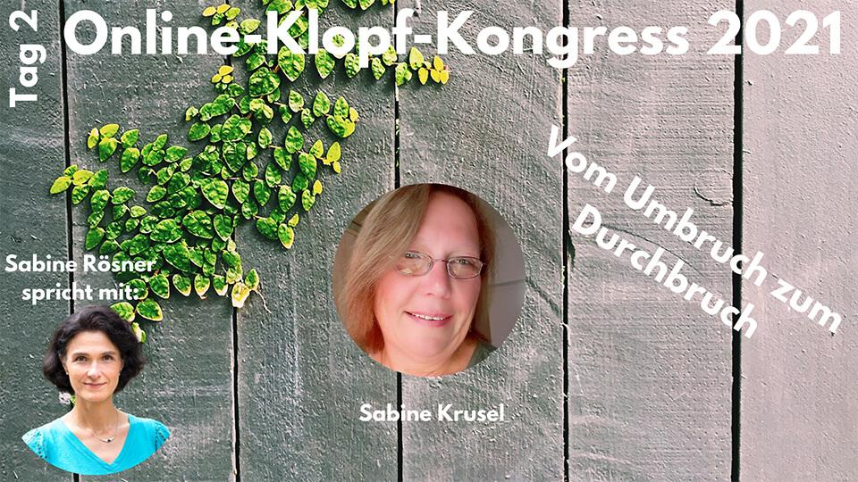 Interview Sabine Krusel