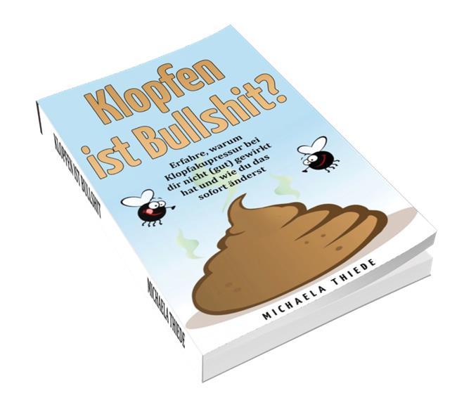 Buch Klopfen ist Bullshit 3D