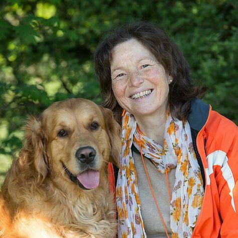 Martina Becher klopfen für Tiere