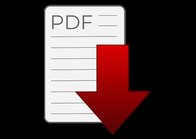 Grafik für ein pdf