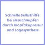 Selbsthilfe bei Heuschnupfen EFT Klopfakupressur
