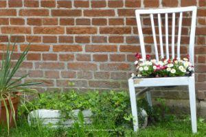 kreativ Stuhl Blumentopf