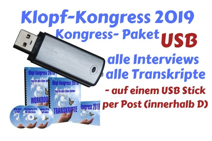 Klopf-Kongress Paket 2019 USB Stick