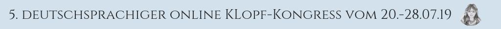 Banner Klopf-Kongress 2019